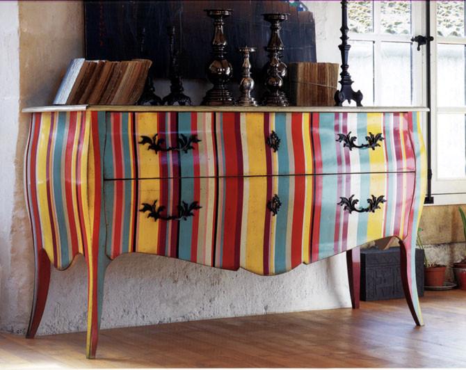 D coration exemples meubles d 39 appoint mobilier de - Decoration sur meuble en bois ...